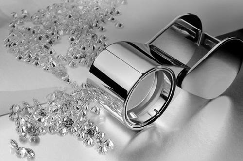 Ausgesuchte Diamanten bei Giloy Trauringen